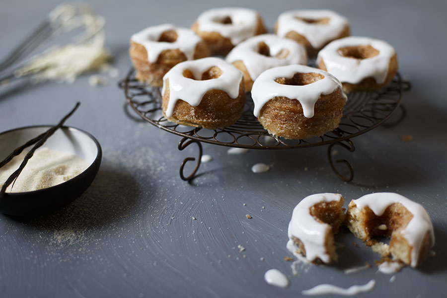 Copycat Cronuts with Orange Blossom Glaze