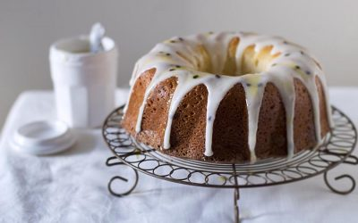 One Cup Yoghurt Passionfruit Cake