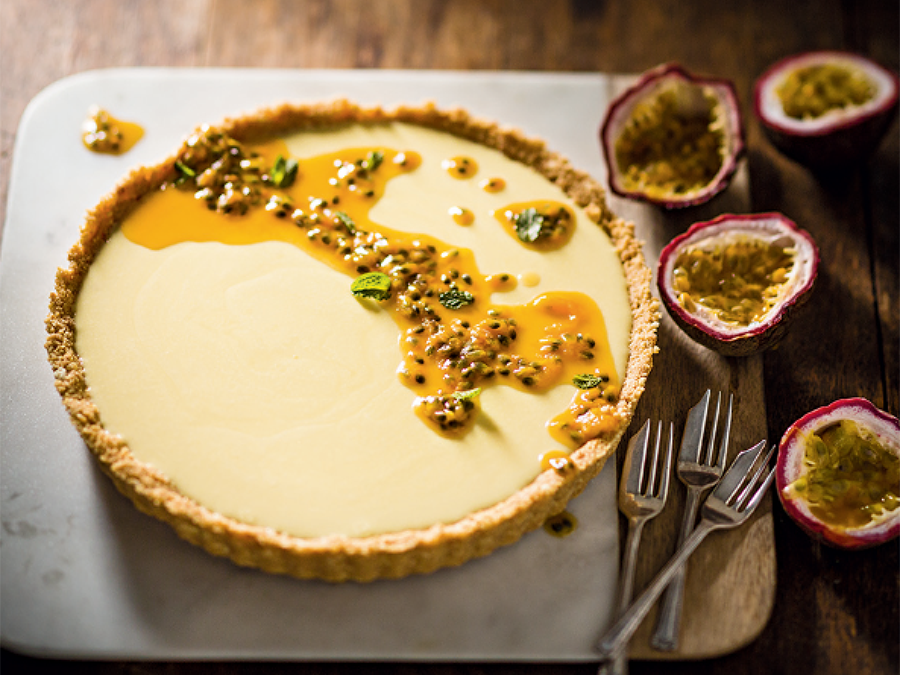 Granadilla Fridge Tart