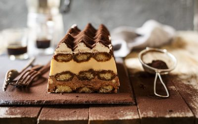 Frozen Chocolate Tiramisu