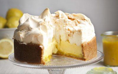 Lemon Meringue Baked Cheesecake