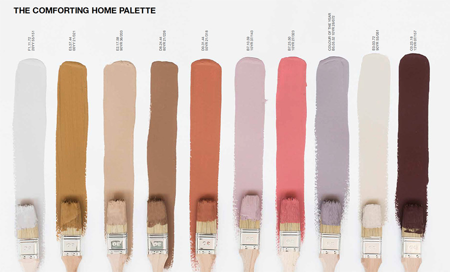 Dulux - Comforting Home Colour Palette