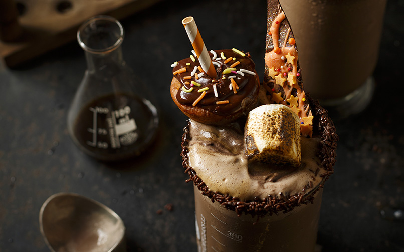 Death By Chocolate Freakshakes for Halloween