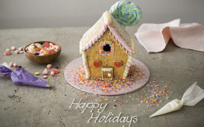Funfetti Gingerbread House
