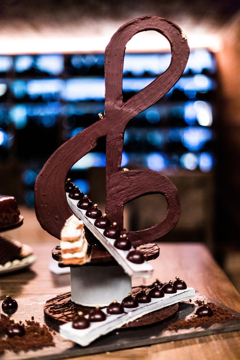Winning Chocolate Sculpture