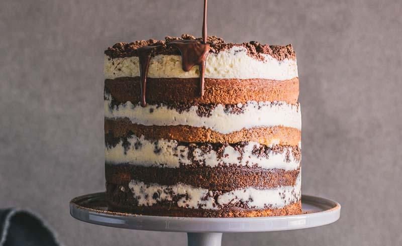 Tiramisu Crunch Cake & Lancewood Cake-Off Competition
