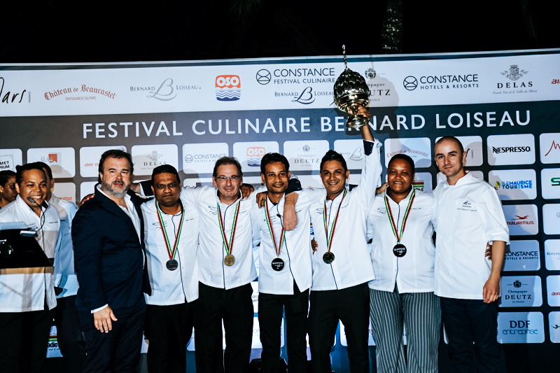 Pastry Chef Winners of the 13th Festival Bernard Louiseau