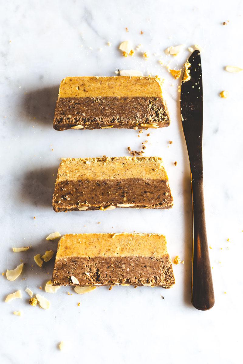 Chocolate Chai Chickpea Fudge