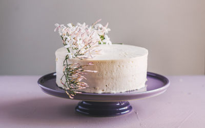Upside-Down Cake Frosting Technique