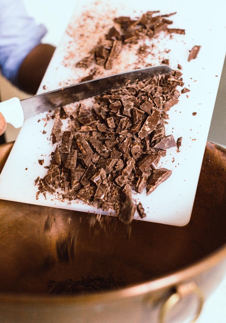 How To Temper Chocolate with AFRIKOA Chocolate