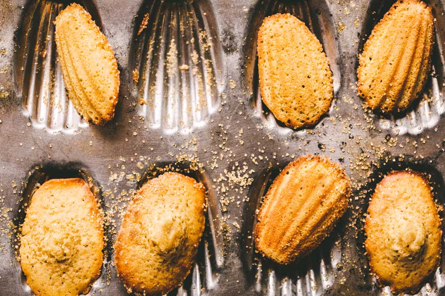 Brown Sugar Madeleines