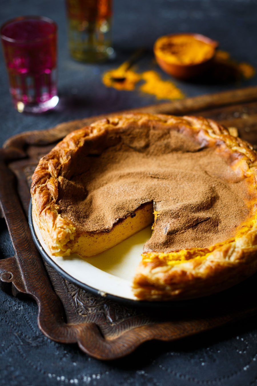Turmeric Milk Tart Recipe How To Make A Melktert With A Twist