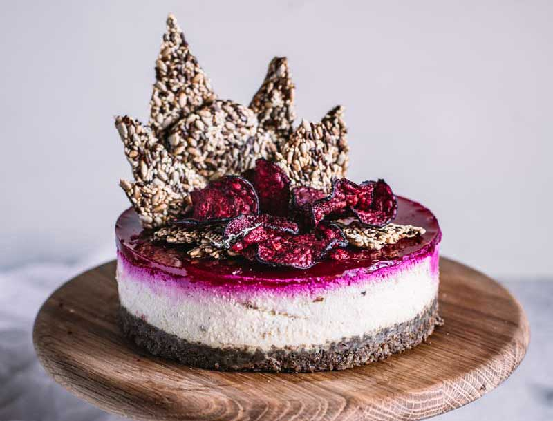 Beetroot Cheesecake & Lancewood Cake-Off Competition