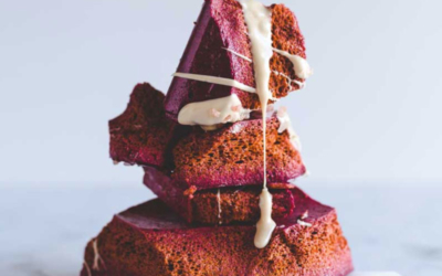 Beetroot Honeycomb with White Chocolate
