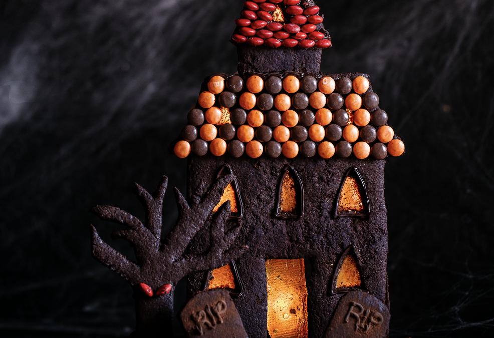 Death by Chocolate Haunted Halloween House