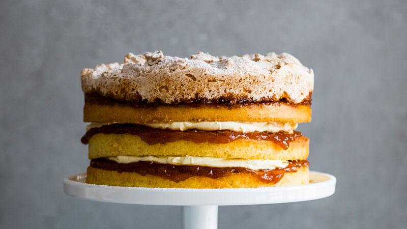 Hertzoggie Cake